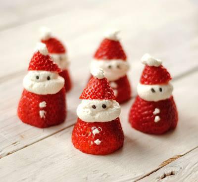 fraise chantilly de noel / goûter de Noël à ACL Beaulieu