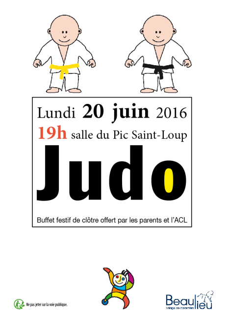 20 juin judo